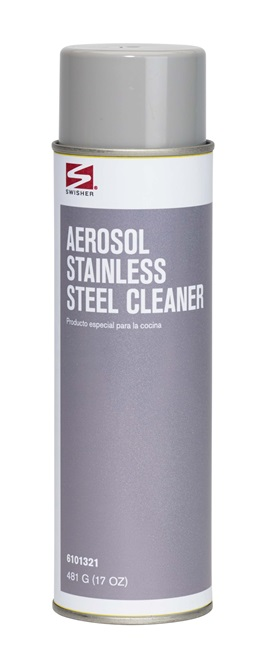 Swisher Aerosol Stainless Steel Cleaner