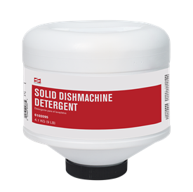 Swisher Metal Safe Powdered Encapultaed Dishmachine Detergent